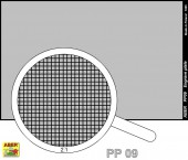 PP09 Engrave plate (88 x 57mm) - pattern 09
