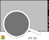 PP08 Engrave plate (88 x 57mm) - pattern 08