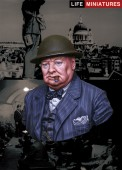 LM-B005 Never surrender - British Prime Minister Winston Churchill