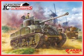 ASU35-028 1/35 British Sherman IC Firefly Composite Hull with Accessories