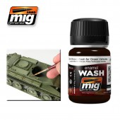 AMIG1005 DARK BROWN WASH FOR GREEN VEHICLES