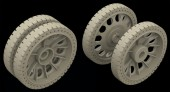 HSR 35028 T-34/76 Half Spider Early wheels