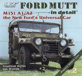 WWP002 green Ford Mutt M151A/A2 in detail