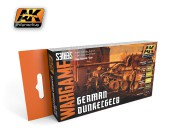AK1552 GERMAN DUNKELGELB SET( Wargame series)