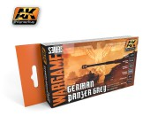 AK1160 GERMAN PANZER GREY SET ( Wargame series)