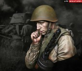 LM-B011 WW2 Young Red Army Infantryman, July 1943, Battle of Kursk