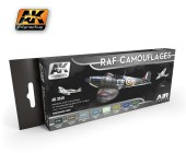 AK2010 RAF CAMOUFLAGES (AIR SERIES)