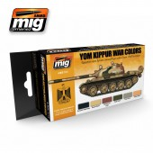 AMIG7113 YOM KIPPUR WAR COLORS SET