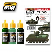 AMIG7135 VIETNAM COLORS SET