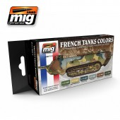 AMIG7110 WW I & WW II FRENCH CAMOUFLAGE COLORS