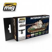 AMIG7108 INTERIOR COLORS: GERMAN TANKS
