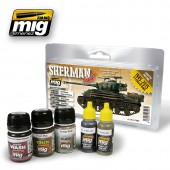 AMIG7427 FURY SHERMAN SET