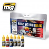 AMIG7127 ROBOTS & MECHAS COLORS