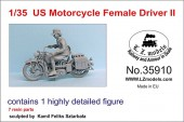 LZ35910 US Motorcycle Female Driver II