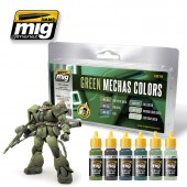 AMIG7149 GREEN MECHAS COLORS