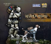 GC90-003 Humanoid with a dog