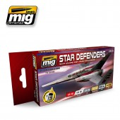 AMIG7130 STAR DEFENDERS SCI-FI COLORS
