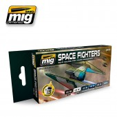 AMIG7131 SPACE FIGHTERS SCI-FI COLORS