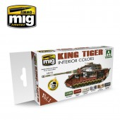 AMIG7165 KING TIGER INTERIOR COLOR (SPECIAL TAKOM EDITION) VOL.1