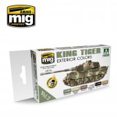 AMIG7166 KING TIGER EXTERIOR COLOR (SPECIAL TAKOM EDITION) VOL.2