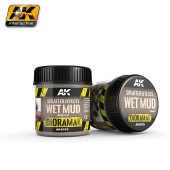 AK8026 SPLATTER EFFECTS WET MUD 100ML