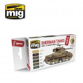 AMIG7169 Set Sherman Tanks Vol. 1 (WWII Commonwealth)
