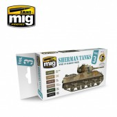 AMIG7171 Set Sherman Tanks Vol. 3 (WWII US Marine Corps)
