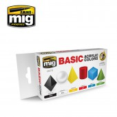 AMIG7178 BASIC ACRYLIC COLORS