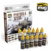 AMIG7174 PANTHER-G Colors Set for Interior and Exterior Set