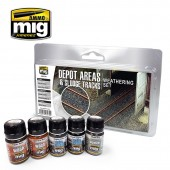 AMIG7470 DEPOT AREAS - SLUDGE TRACKS WEATHERING SET