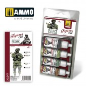 AMIG7031 RUSSIAN FLORA UNIFORMS. FIGURES SET