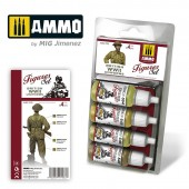 AMIG7033 BRITISH UNIFORMS WWII SET