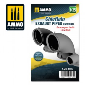 AMIG8085 Chieftain exhaust pipes universal