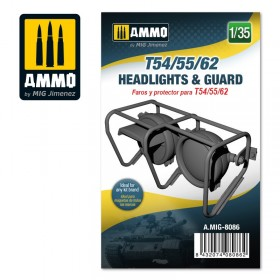AMIG8086 T54/55/62 headlights & guard