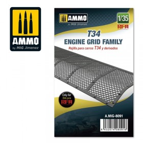 AMIG8091 T34 Engine Grid Family