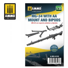 AMIG8103 MG-34 WITH AA MOUNT AND BIPODS