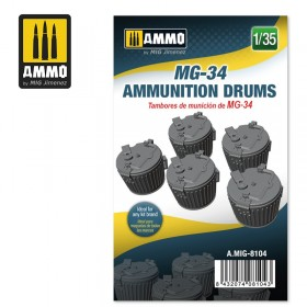 AMIG8104 MG-34 AMMUNITION DRUMS
