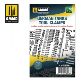 AMIG8106 GERMAN TANKS TOOL CLAMPS