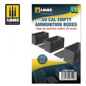 AMIG8109 .50 CAL EMPTY AMMUNITION BOXES