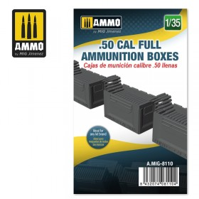 AMIG8110 .50 CAL FULL AMMUNITION BOXES