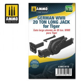AMIG8119 German WWII 20 ton Long Jack for Tiger