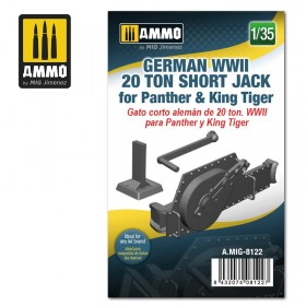 AMIG8122 German WWII 20 ton Short Jack for Panther & King Tiger