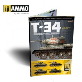 AMIG6145 T-34 Colors. T-34 Tank Camouflage Patterns in WWII (Multilingual)