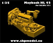 SKP 054 ENGINE FOR SdKfz 251 (for AFV Club Kit)